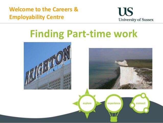 Welcome to the Careers & Employability Centre Finding Part-time work