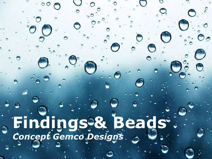 Findings & Beads Concept Gemco Designs