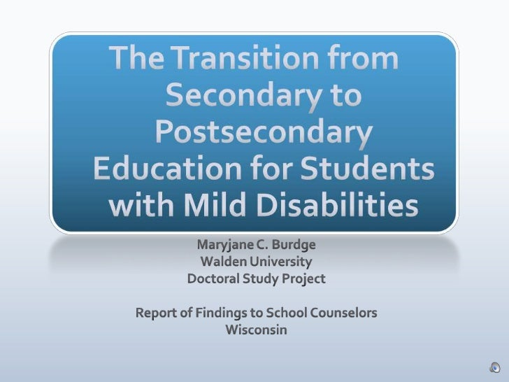 Findings   doctoral study - counselor training
