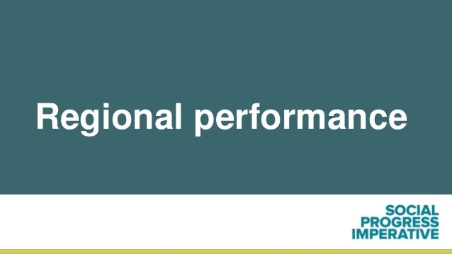Regional performance