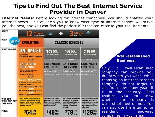 Finding The Best High Speed Internet Service Provider In ...