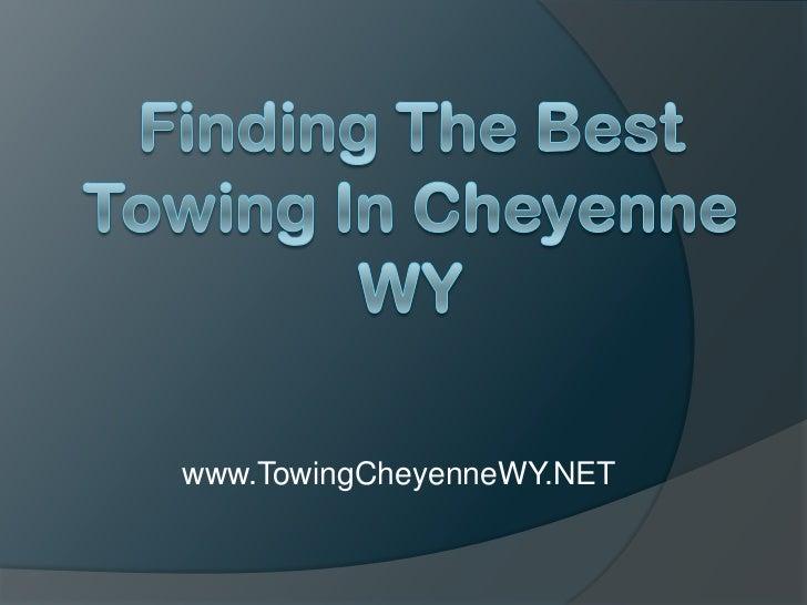 www.TowingCheyenneWY.NET