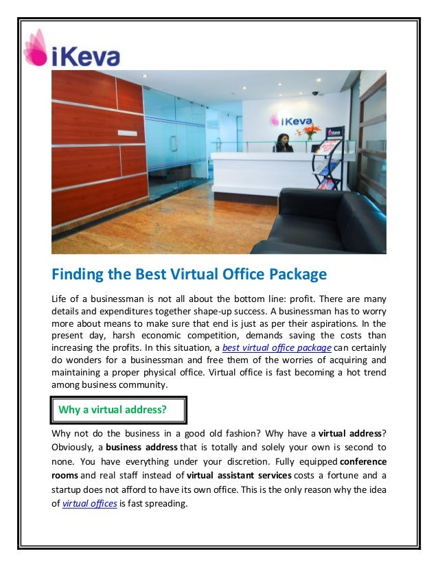 best virtual office. Finding The Best Virtual Office Package Life Of A Businessman Is Not All About Bottom