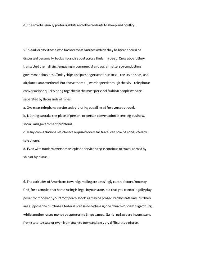 Finding the main idea – Apollo 13 Worksheet