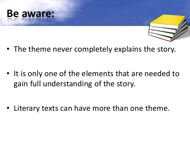 what is the theme of a story