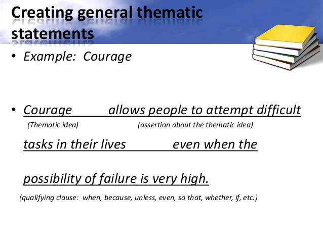 sample goal statements