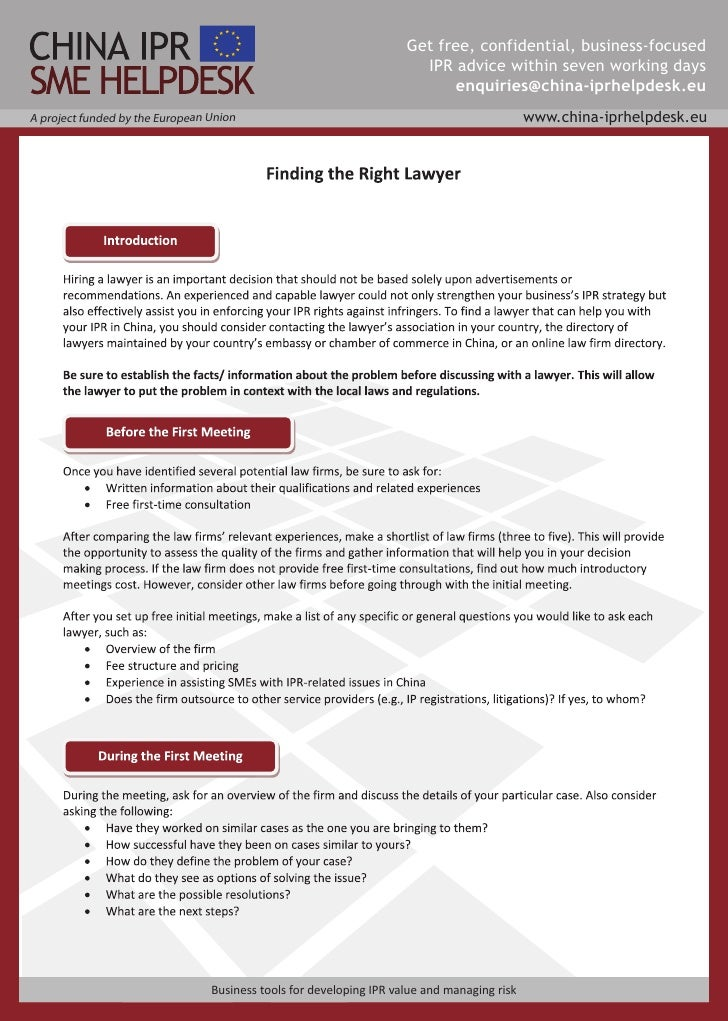 Get free, confidential, business-focused                                                                        IPR advice...