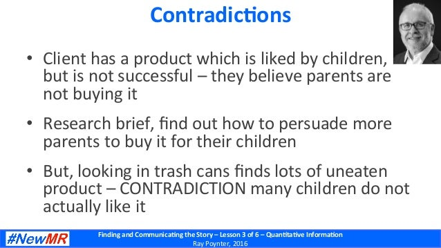 Finding  and  Communica-ng  the  Story  –  Lesson  3  of  6  –  Quan-ta-ve  Informa-on   Ray  ...