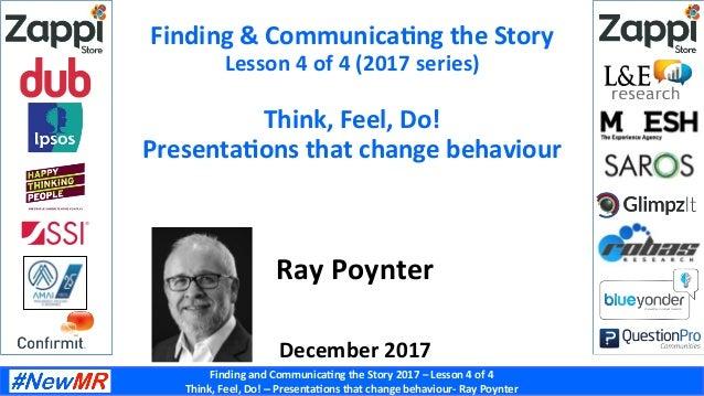 think feel do presentations that change behaviour