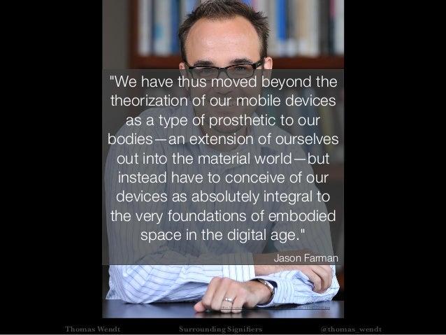 "Thomas Wendt Surrounding Signifiers @thomas_wendt http://www.newsdesk.umd.edu/experts/portraits/111602247.jpg ""We have thus..."