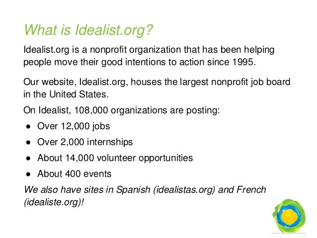 Finding Your Dream Nonprofit Job: How to Use GuideStar & Idealist.org…