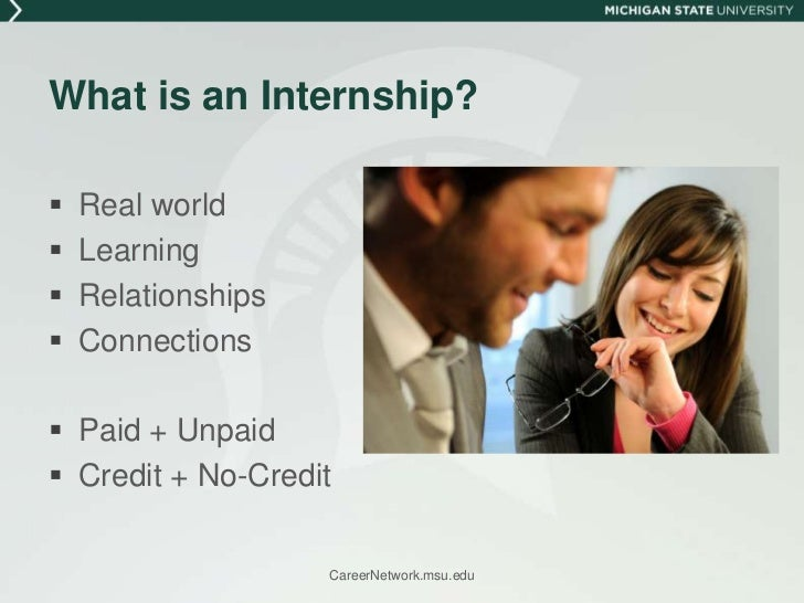 Finding Your Internship Slide 2