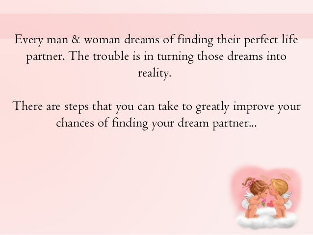 Finding The Man Of Your Dreams