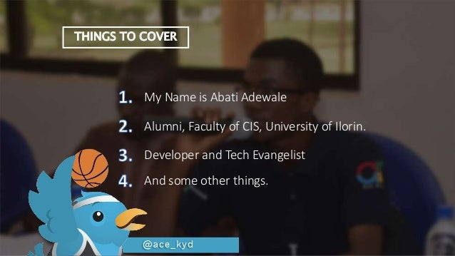 Finding your place - University of Ilorin Slide 3