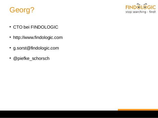 Der FINDOLOGIC Entwicklungsprozess
