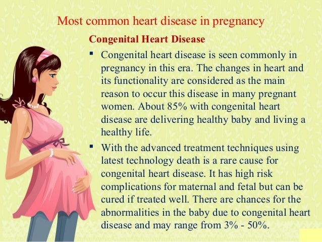 How to Find out about heart disease in pregnancy