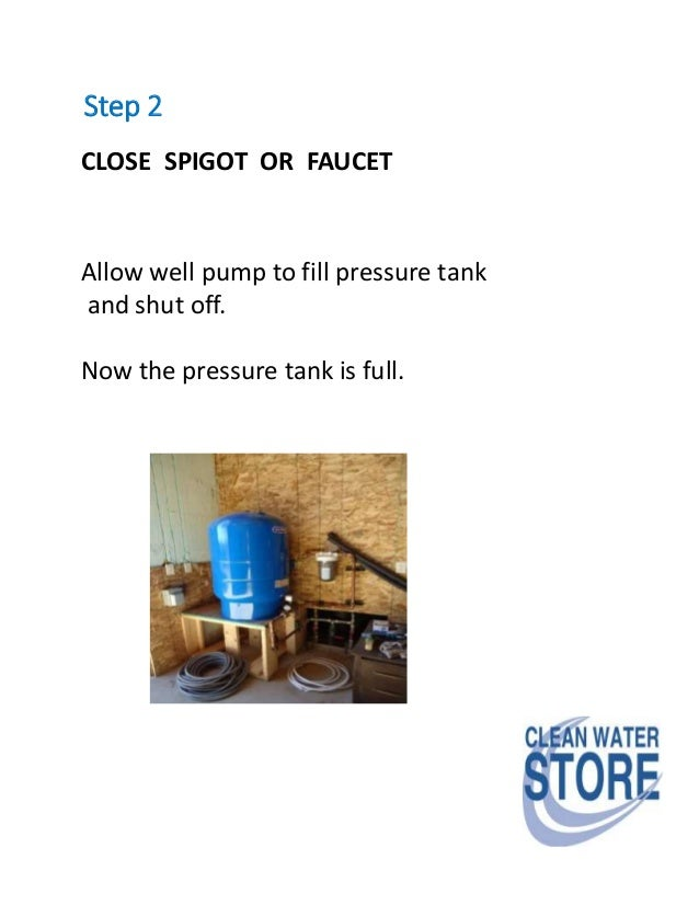 Find out your well pump flow rate