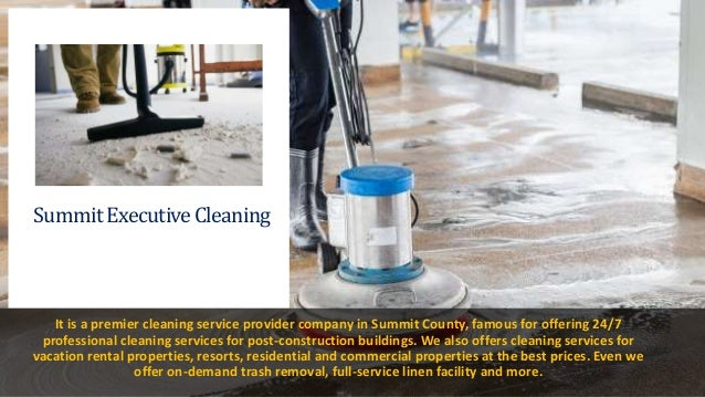 Find Post-Construction Cleaning Professionals Near You in Summit County Slide 3