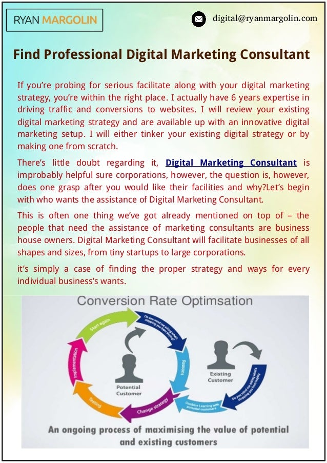 digital@ryanmargolin.com Find Professional Digital Marketing Consultant   If you're probing for serious facilitate along w...