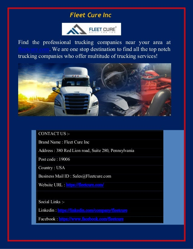 Best Trucking Companies in Florida