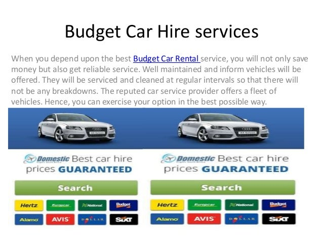 Budget Car Hire Dubai