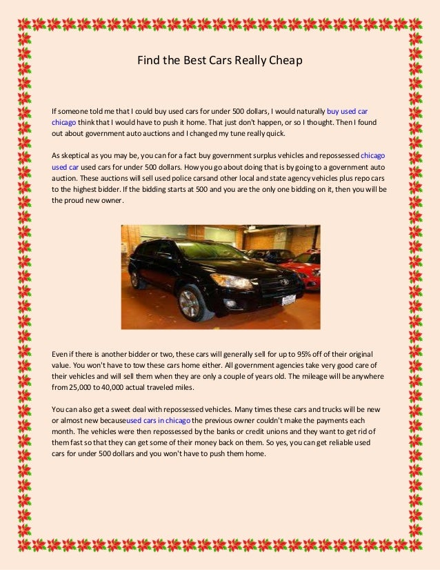 Used Car Auctions Near Me >> Find The Best Cars Really Cheap