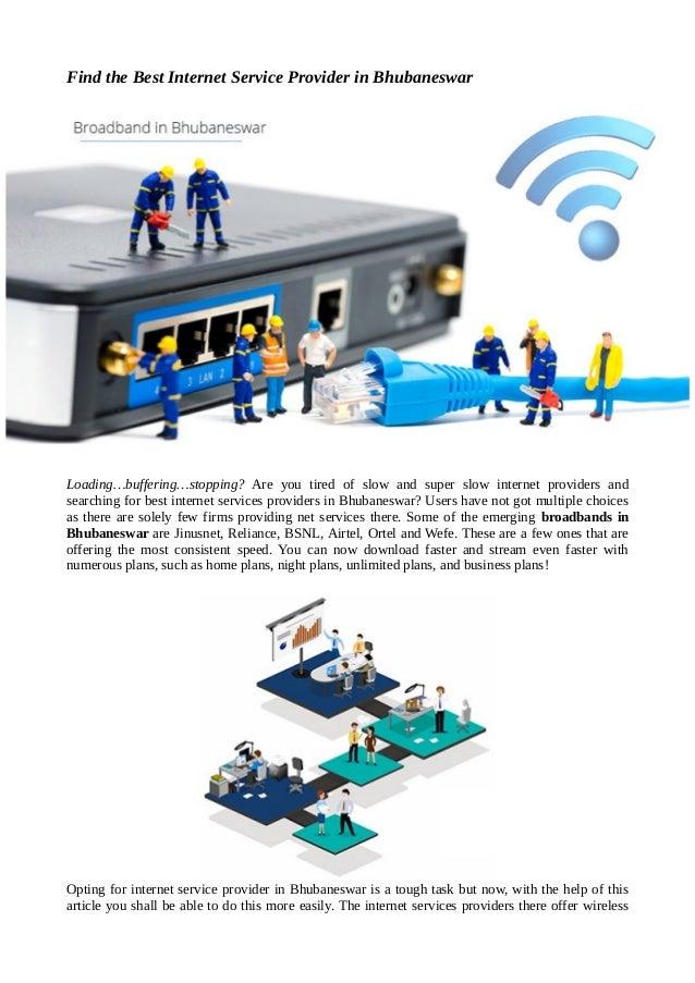Find the best internet service provider in bhubaneswar