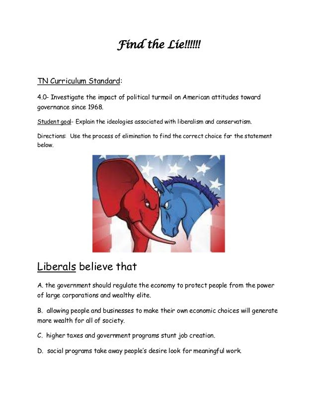 liberalism vs conservatism Conservative liberalism is a variant of liberalism,  conservative liberalism as well as liberal conservatism should not be confused with libertarian conservatism,.