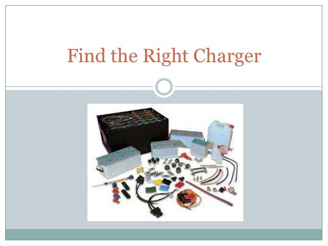 Find the Right Charger
