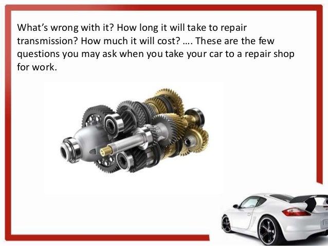 Car Transmission Repair Katy