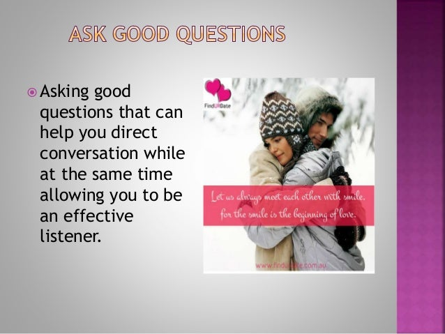 good questions to ask while dating
