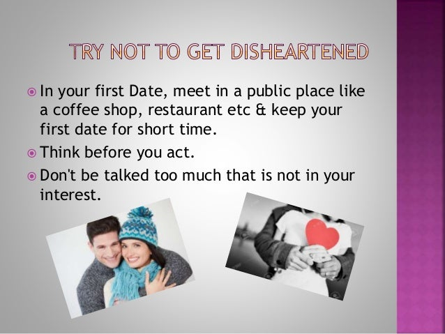Disheartened by online dating