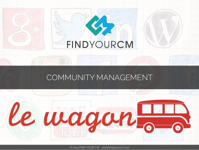 COMMUNITY MANAGEMENT  © 2014 FIND YOUR CM – www.findyourcm.com