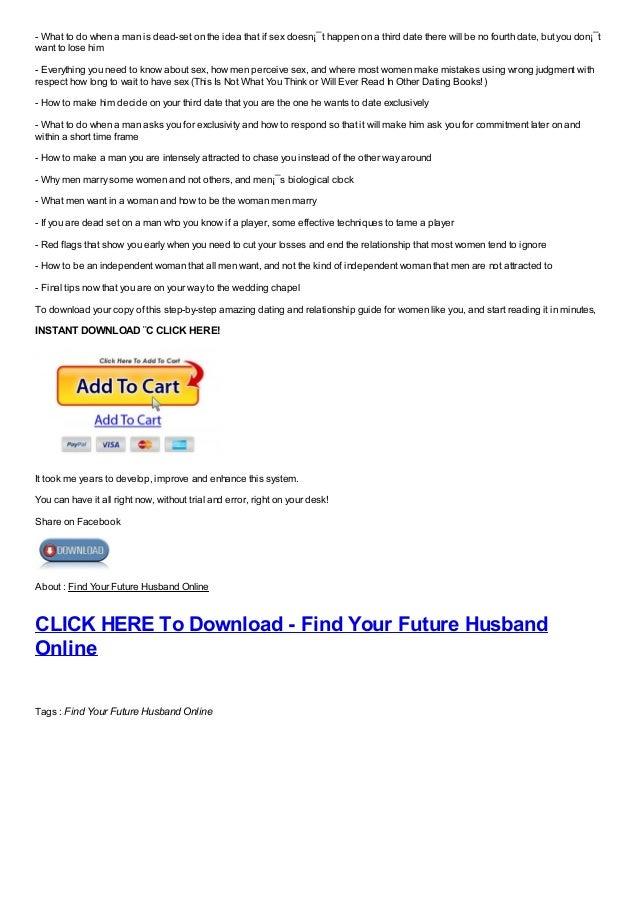 Find your husband online
