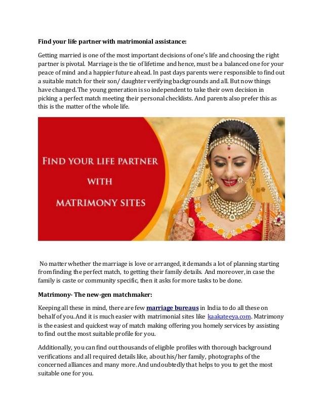 Life partner sites