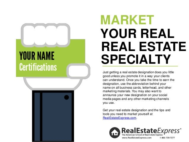 Advance your real estate career top real estate specializations certified 7 market real estate reheart Image collections