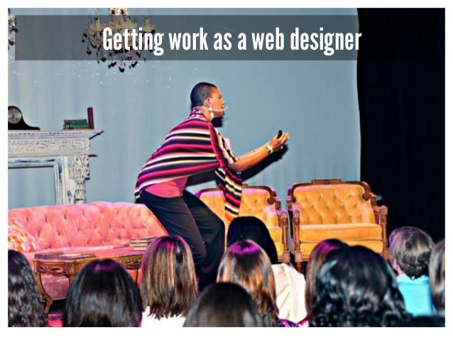 Getting work as a web designer