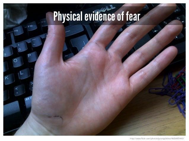Internal manisfestations of Fear  http://brenebrown.com/2014/04/08/daring-interview-series-meet-gavin-aung/