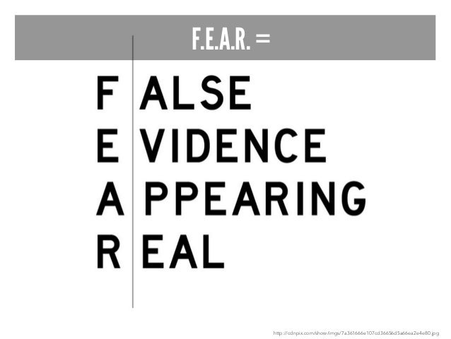 """""""Fear is not real. It is a product of the  thoughts you create. Do not  misunderstand me. Danger is very real.  But fear i..."""