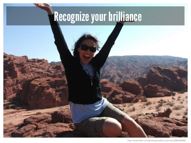 DO NOT focus on your weaknesses  http://www.flickr.com/photos/jonathan_hamner/3386076488/