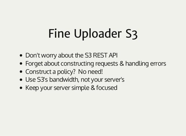 fine uploader s3