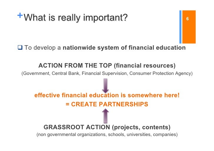 +                                                                           6To develop a nationwide system of financial...