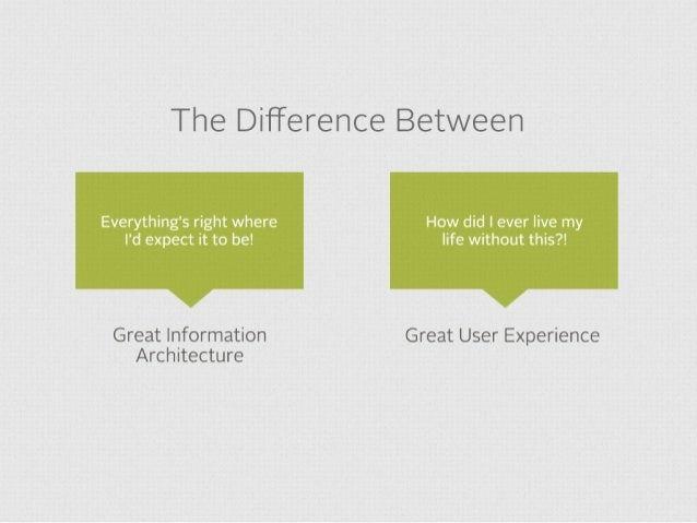 As we move from static and reactive to predictive and proactive experiences, IA and UX become increasingly critical.