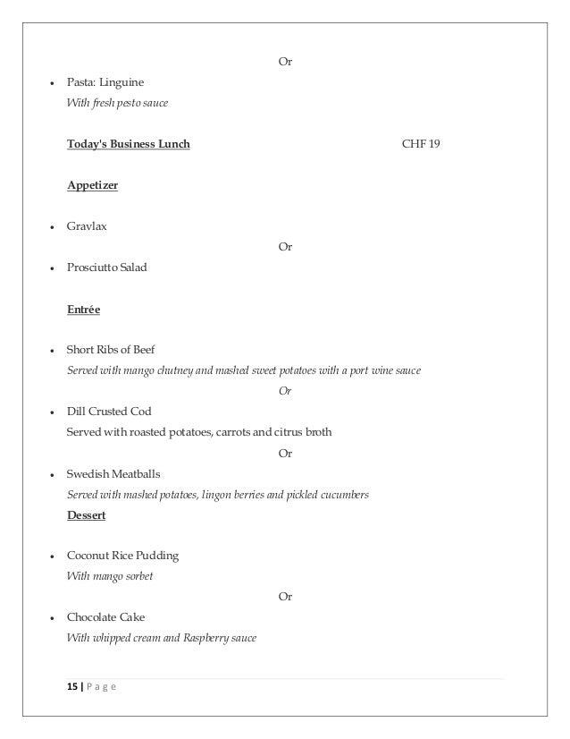 fine dine concept in geneva   how to open restaurant
