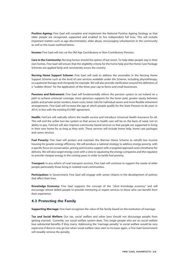 Fine gael manifesto web manifesto 24 altavistaventures Choice Image