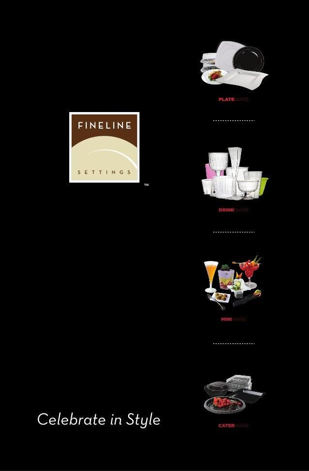 Upscale Disposable Dinnerware brochure new 2013