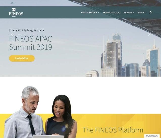 FINEOS Website