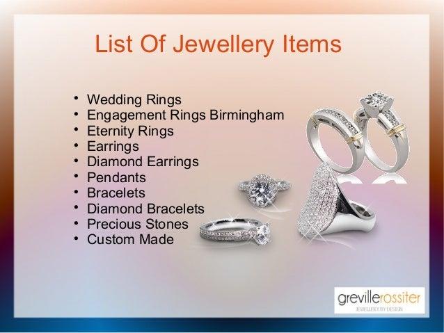 Finest Jewellery In Birmingham