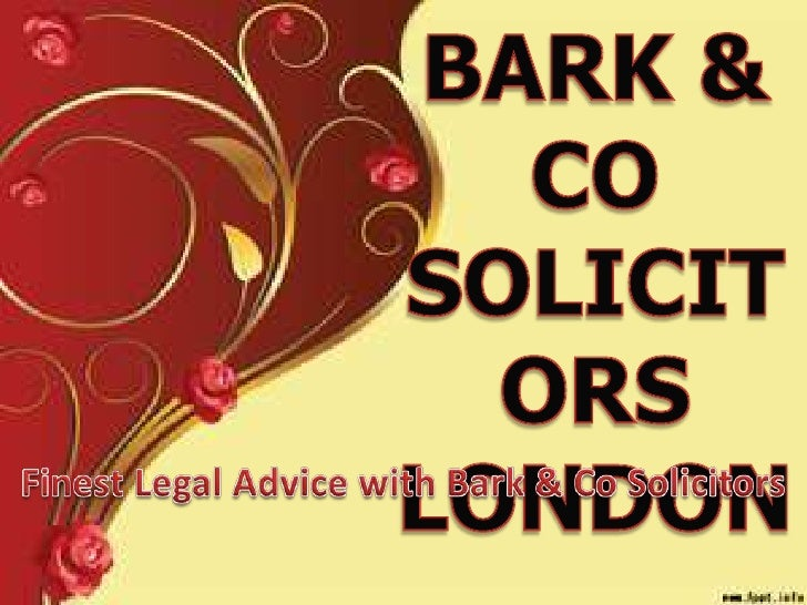 Bark $ Co is famous for its experience and competency inhandling various complicated cases. The firm has participatedin va...