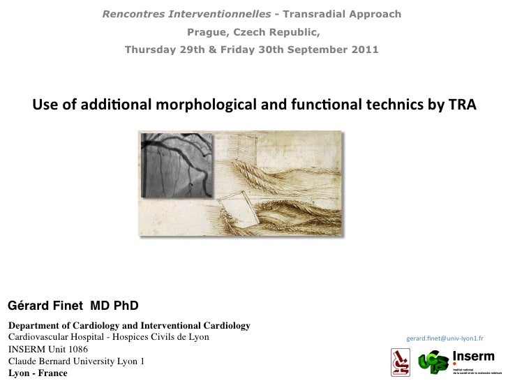 Rencontres Interventionnelles - Transradial Approach                                         Prague, Czech Republic,      ...